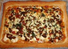 Pizza Marysieńka. Prosciutto, Mozzarella, Vegetable Pizza, Vegetables, Food, Essen, Vegetable Recipes, Meals, Yemek