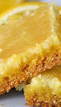 Lemon Gooey Butter Cake