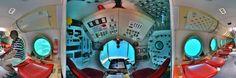 360Cities – Panoramic Photography Blog » Blog Archive » Canary Islands: Puerto Mogan – Yellow Submarine interior cockpit