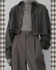 Adrette Outfits, Indie Outfits, Korean Outfits, Cute Casual Outfits, Retro Outfits, Grunge Outfits, Vintage Outfits, Flannel Outfits, Fall Fashion Outfits