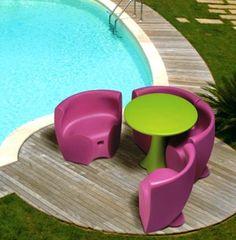 table et chaise de jardin pas cher en plastique