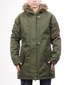 Makia Parka, already at home! Parka, Raincoat, Fitness, Jackets, Winter, Fashion, Rain Jacket, Down Jackets, Winter Time