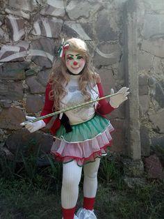 Clown Pics, Clown Images, Cute Clown, Shakira, Female Clown, Circus Clown, Girls Makeup, Harajuku, Goth