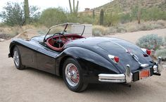 1955 Jaguar XK140 MC Roadster