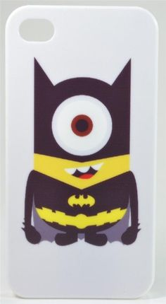 Wish | Despicable Me Minion Batman Bat Man iPhone 4/4s and 5 Case Cover - US SELLER