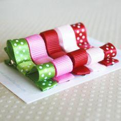 Sweet Hair Clip Sets - Strawberry shoptomkat.com