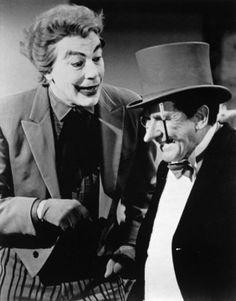 'The Joker' and 'The Penguin' on 'Batman TV Series' (1966–1968)
