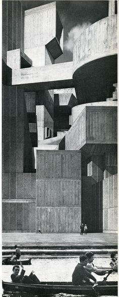 Ivor De Wolfe and Kenneth Browne. Civilia. Architectural Press London 1971: 83 | RNDRD