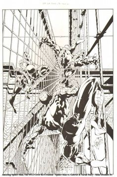 Amazing Spider- Man by Mike Deodato Jr. *