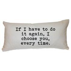Romantic Pillow.