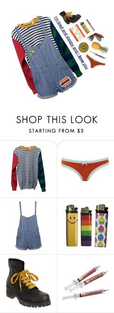 """adoration"" by filthangel ❤ liked on Polyvore featuring American Apparel, Topshop, Stussy and Barneys New York"