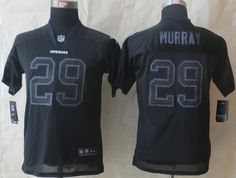 Youth New Dallas cowboys 29 Murray Lights Out Black Elite Jerseys