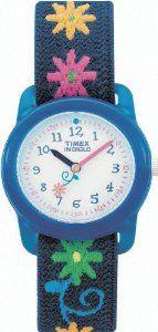 Timex Kids' T71172 Flowers Stretch Band Watch