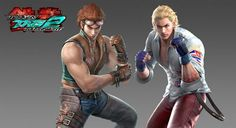 Tekken tag tournament 2: team Hwoarang - Steve