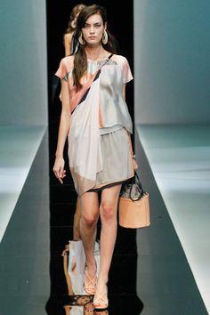 Milan Fashion Week: Emporio Armani Spring / Summer 2013