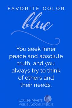 Pin by Jon D Franks on About Me Blue color quotes, Favorite blue color psychology - Blue Things Blue Color Quotes, Blue Quotes, Color Meaning Personality, Color Psychology Test, Psychology Meaning, Psychology Memes, Psychology Studies, Color Symbolism, Colors And Emotions