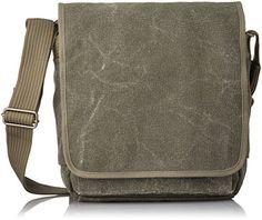 Think Tank Retrospective 20 Pinestone Tall Shoulder Bag, Pinestone Cotton Canvas