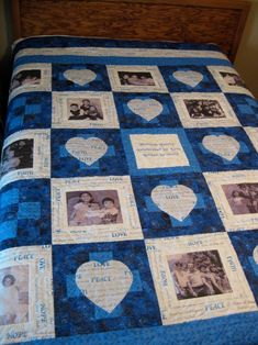 Memory Pillows, Memory Quilts, Family Tree Quilt, Photo Quilts, Signature Quilts, Quilt Labels, Quilt Material, Shirt Quilt, Tie Quilt