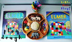Play dough Elmers 🐘🌈 The 100 Language, Elmer The Elephants, Dear Zoo, Expressive Art, Learning Through Play, Creative Play, Eyfs, Imaginative Play, Sensory Play