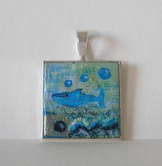 Tiere und Kunst von Herbivore11 - Ein Fisch im Meer
