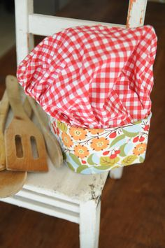 Children's apron and chef hat by bunnybeardesigns on Etsy