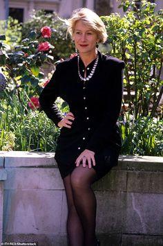 Fashion Art, Fashion Outfits, Dame Helen, Helen Mirren, Steve Mcqueen, Beautiful People, Sexy Women, Female, Celebrities