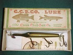 getting top prices for Creek Chub tackle.
