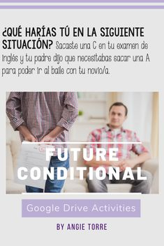 Would you like to see 100% student engagement? Try Spanish Google Drive Activities for the Future and Conditional Tenses. Students love digital activities and the situations are funny and relatable! After using these resources, students will be able to talk about the future and express probability using use the future and conditional tenses. Product includes digital activities for el futuro y el condicional, instructions for the students and student handouts. Great for distance learning! Ap Spanish, Spanish Lessons, Google Drive, French Teacher, Blended Learning, Student Engagement, Interactive Notebooks, Lesson Plans, Distance