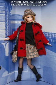 Burberry Blue Label Exclusive Japan Barbie Doll, 1999.