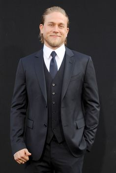 Pin for Later: 26 Signs You're Completely Obsessed With Charlie Hunnam You Have a Picture of Him Hanging on Your Wall and/or Desk