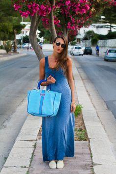 Style and Trouble: Un Colorato Look da Spiaggia
