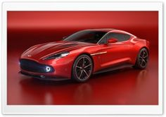 Aston Martin Vanquish Coupe Zagato HD Wide Wallpaper For Widescreen