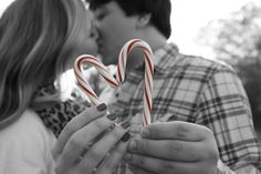 Christmas candy cane picture...looks neat in black and white