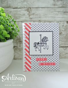 Birthday Carousel Stampin Up by Cards and Scrapping