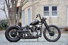 Bobbed Harley-Davidson Knucklehead | Bobber Inspiration | Bobbers & Custom Motorcycles