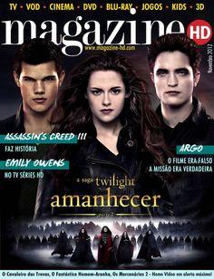 Rob Pattinson + Kristen Stewart HD Magazine (Portuguese) November 2012