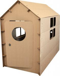 дом-конструктор из картона для детей