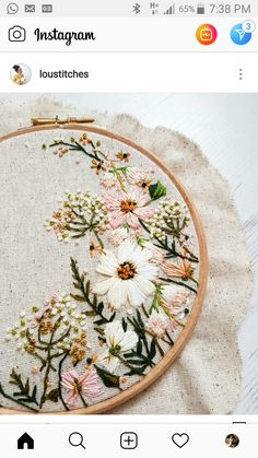 Hand Embroidery For Beginners Details Learn Embroidery, Hand Embroidery Stitches, Embroidery Hoop Art, Embroidery For Beginners, Embroidery Techniques, Cross Stitch Embroidery, Embroidery Designs, Embroidery Transfers, Sewing Art