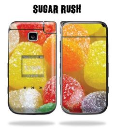 Skin Decal Wrap cover Samsung Alias 2 u750 Sugar Rush