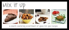 Mix it Up--- awwwesome healthy-food blog. Desserts GALORE. My new go-to when I need a sweet-snack :)