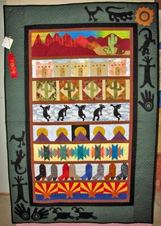 ❤ =^..^= ❤  Quilts by Marlene Southwest Memories