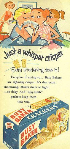 Busy baker-Crackers by koldobarroso, via Flickr