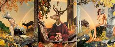 "Javier Pinon ""The Sylvan Altarpiece"""