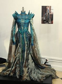 "The costume of "" Snow White and the Huntsman"" worn by Charlize Theron"