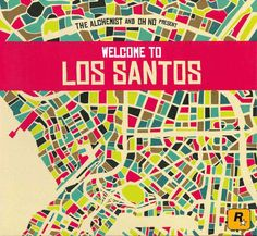 Oh No - The Alchemist & Oh No Present Welcome To Los Santos