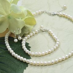 Cathy's Concepts S1920S 6mm Classic Freshwater Pearl Jewelry Set  #wedding