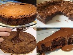 Receita de Torta Brownie - Tudo na cozinha