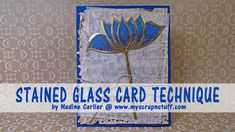 Stained Glass Technique Using Vellum