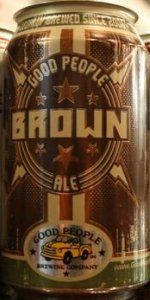 Brown | Good People Brewing Company | BeerAdvocate
