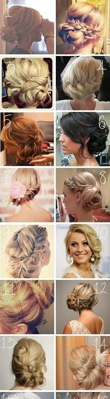 Wedding/prom hair ideas. @Erika Alvis if you want your hair up!